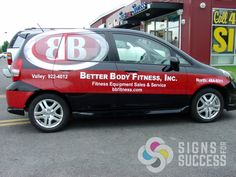 company cars can become the advertising your company needs. Full wraps can be the boost your company needs