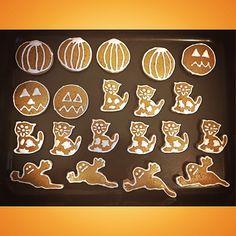 Halloweenské perníčky 🕸🎃👻
