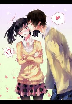 mekaku city actors/ kagerou project takane and haruka! these guys make such a cute couple X3