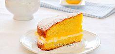 ciasto-z-kremem-cytrynowym-(-victoria-sponge-cake-)-1 Vanilla Cake, Victoria, Sweets, Food, Gummi Candy, Candy, Essen, Goodies, Meals