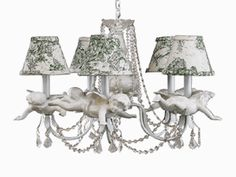 Nursery Boutique -Chandeliers -Cherub - Unique Chandeliers For any Baby Nursery or Children's Room|Find|Buy|Shop|Compare|LollipopMoon.com only $650.00 - Louise Antoinette Designs