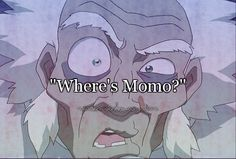 """""""Wait. A. Second! Someone's missing... Where's Momo?!""""  Boomie says whilst Aang is on an ancient lion turtle in the middle of the freaking ocean hahah"""