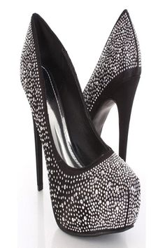 This is a very sexy pump heels that will be the hit at your next party!    www.amiclubwear.com