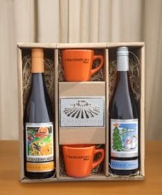 Great holiday gift idea! Create a gift basket filled with goodies from Chaddsford Winery in Peddler's Village.