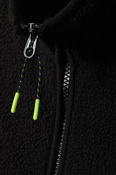 Malaya Fleece Vest - Black - Jackets & coats - Weekday AT Retail Experience, Fleece Vest, Fashion Brand, Dog Tag Necklace, Snug, Street Style, How To Wear, Vests, Black