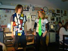 Art of Apex High School: Art History Fashion Show