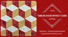 Video tutorial: tumbling blocks with no Y seams