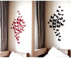 Wall Decor - 3D Vivid Wall Stick Wall Decals Tiger Runs Out off the Wall -