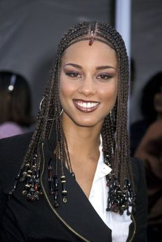 Alicia Keys' Most Head-Turning Hairstyles Of All Time #AfricanBraids