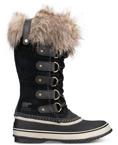 Fearless winter warriors need the boots to match. Made to keep you dry and warm down to the women's Sorel Joan of Arctic boots help you trek through icy, snowy terrain in comfort. Available at REI, Satisfaction Guaranteed. Sorel Joan Of Arctic, Winter Shoes For Women, Snow Boots Women, Waterproof Winter Boots, Rain Boots, Women's Boots, High Boots, Cowboy Boots, Vulcanized Rubber
