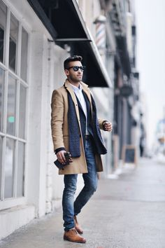 Coat: Club Monaco (Similar) | Sportcoat: J.Crew | Shirt: J.Crew | Jeans: Allsaints Watch: Michael Kors | Scarf: Club Monaco (Similar) | Shoes: Allen Edmonds | Glasses: RayBan City strolls and enjoying lattes at Boxcar Social Toronto… [more] Follow Along: @nealjolly Coat: Club Monaco (Similar) | Sportcoat: J.Crew | Shirt: J.Crew | Jeans: Allsaints Watch: Michael Kors | Scarf:... Read more »