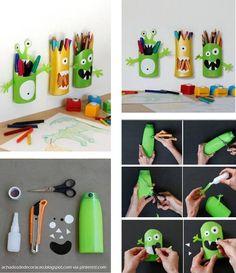 DecoraçãO E Reciclagem Para CriançAs (Com Bom Humor): FaçA Você Mesma(O)