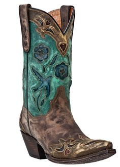 If I get married some day these will be my shoes... I love cowboy boots with a wedding dress!