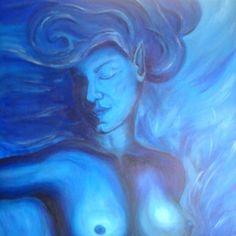 Nettbutikk - www.marietta-louis.com Daenerys Targaryen, Game Of Thrones Characters, Blue, Painting, Fictional Characters, Art, Art Background, Painting Art, Paintings
