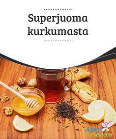 Superjuoma kurkumasta   Kurkuma on erittäin #hyödyllinen elimistölle, sillä se on #tulehduksia vastaan taisteleva sekä kipua lievittävä tuote, jossa on noin 300 eri #antioksidanttia.  #Luontaishoidot