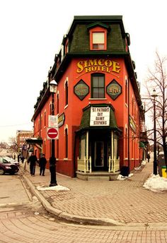 Simcoe Hotel at the Five Points, downtown Barrie