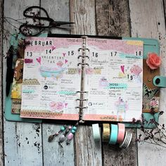 Creative pages by amaryllis775: Filofaxing / Valentinstag