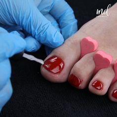 Fancy Nails Designs, Nail Art Designs Videos, Nail Art Videos, Toe Nail Designs, How To Do Pedicure, Pedicure At Home, Manicure And Pedicure, Cat Nail Art, Cat Nails