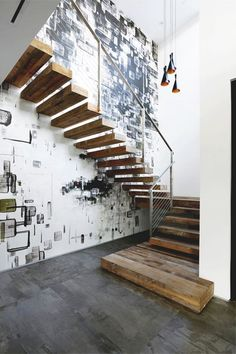 Awesome ideas about lighting for stairways #staircase #stairway