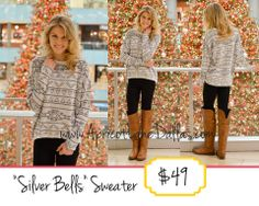 Snatch up this cute new sweater online! It's a comfortable one too  Link: http://www.apricotlanedallas.com/index.cfm?pID=3382#!/~/product/category=4361011&id=30687346