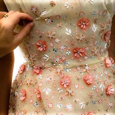"""A something in a summer's Day"" #June  (Photo: Monique Lhuillier Studio, Resort 2016)"