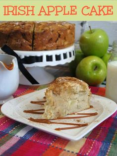 Delicious Irish Apple Cake!