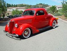 1936 3 Window Ford Hot Rod