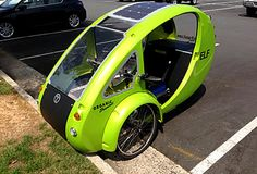 WTOP 103.5 FM: Solar-pedal vehicle draws stares, questions