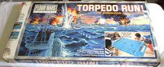 Torpedo Run! 1986 Milton Bradley Floor Wars Board Submarine Attack War See Video