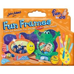 John Adams Fun To Do Fun Frames  Paint and decorate these fantastic frog and fish frames Create your own designs or choose from the  http://www.comparestoreprices.co.uk/creative-toys/john-adams-fun-to-do-fun-frames.asp