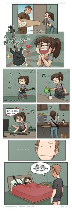 By recently, I mean in august, but I am still pretty crap... XD (here's some pics: crash-n-burn-comic.tumblr.com/… ) > O< Do you play any instruments? do you name them and love them (a...