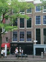 Yes thanks to our friends in Amsterdam, we visited Anne Franks hiding place. Thank you Roger and Angelique