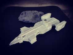Something we liked from Instagram! #battleship #battleships #starship #space #3dprinter #3dprinted #3dprint #3dprinting #figure #miniature #stellamove by hk527 check us out: http://bit.ly/1KyLetq