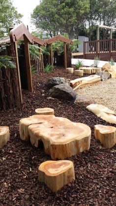 Pathways and dens inspire playfulness. Nature Play NZ