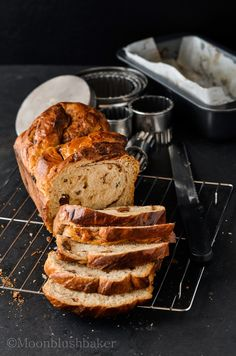 YEASTED GINGER SWIRL BREAD