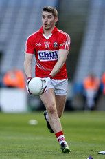 Allianz Football League Division 1 Semi-Final 13/4/2014. Cork. Daniel Goulding. Mandatory Credit ©INPHO/Cathal Noonan Semi Final, Division, Cork, Chill, Football, Running, Sports, Photography, Soccer