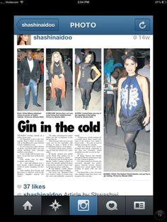 #ShashiNaidoo wearing #FindersKeepers from #NICCI