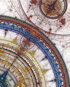 Geometry of the universe by Prelkia Jean-Marc #steampunktendencies #steampunk #art #fractal
