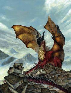 Dragon lecteur, Loïc CANAVAGGIA on ArtStation at https://www.artstation.com/artwork/OVlDg