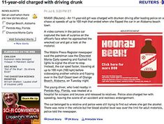 Beer ad placement fail