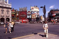 Piccadilly Circus, London, 1969