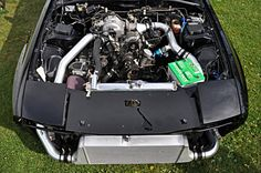 Post pics engine bay Rx7 Turbo