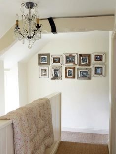 lovely photo wall