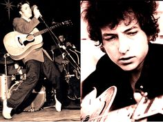 The way that Elvis freed your body, Dylan freed your mind - Bruce Springsteen