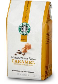 Subtle buttery caramel flavor without the nasty aftertaste of other flavored coffees that use artificial flavorings. Rich, deep, and dark. So yummy.