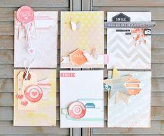 Sentiment Journaling Cards ~ pink paislee - Scrapbook.com