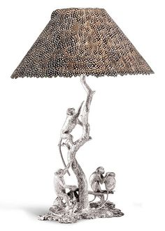 Shop diamond and gold figurines and sculptures and other antique and vintage objets d'art from the world's best jewelry dealers. Little Monkeys, Luxury Lighting, Objet D'art, African Design, Luxury Interior Design, Wildlife Art, Wood Art, Lamps, Sculptures