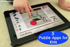 Puzzle Apps - top five! - Pinned by @PediaStaff – Please Visit ht.ly/63sNtfor all our pediatric therapy pins