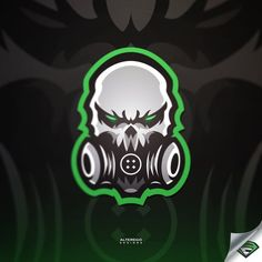 Alter Ego Branding (@AlterEgo_ink) | Твиттер Zombie Logo, Logo Esport, Logo Desing, Esports Logo, Sports Team Logos, Mascot Design, Alien Art, Gaming Wallpapers, Game Logo