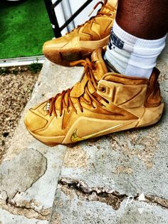 My lebron12 wheats